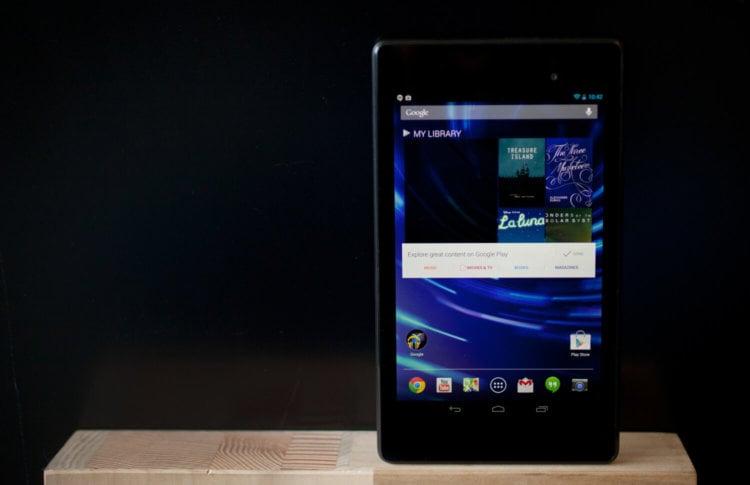 Nexus, Nexus 7, Google, tablet, Photo: Alex Washburn / WIRED