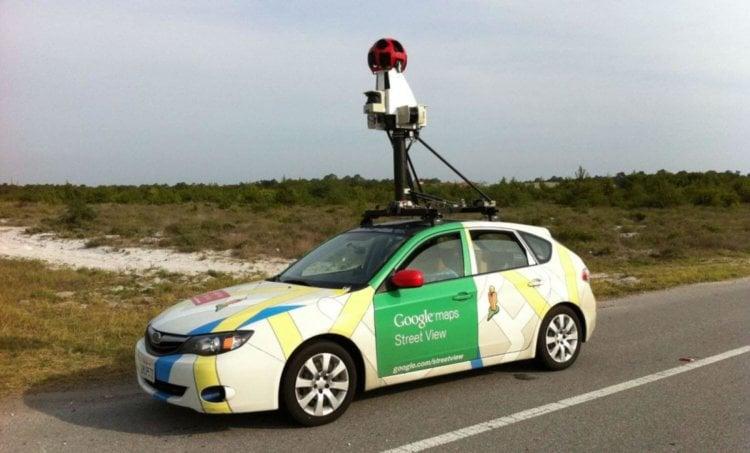 Google Maps авто