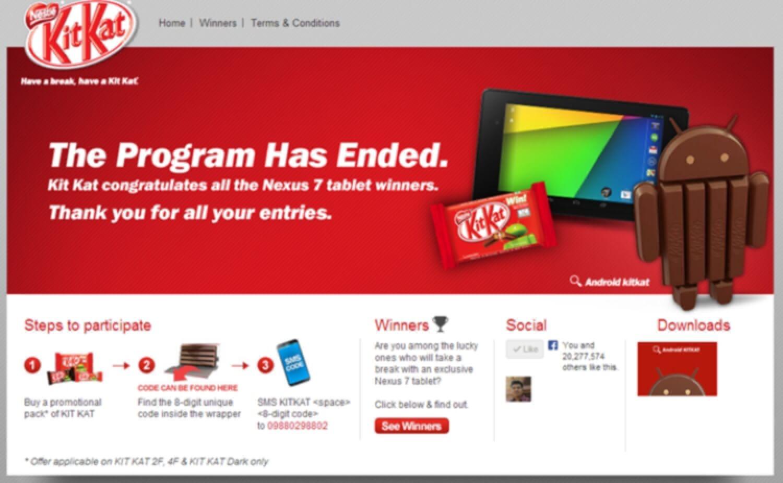 KitKat Contest