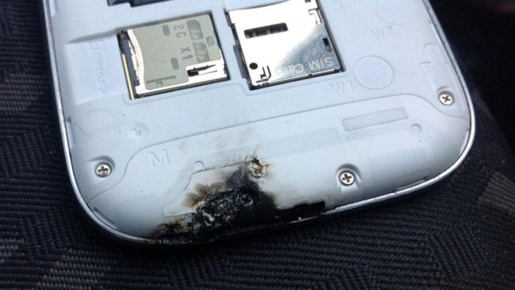 Samsung в огне