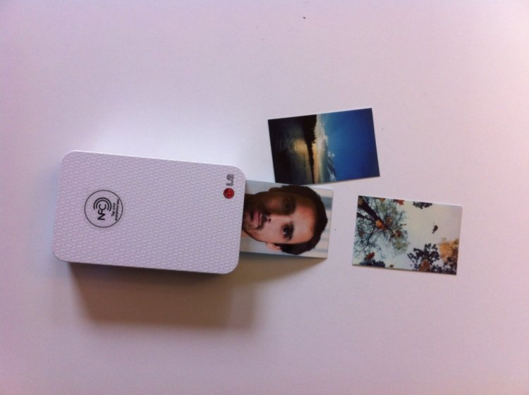 карманный принтер LG