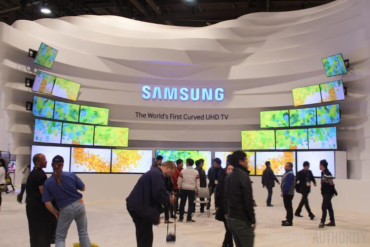 Гибкие дисплеи Samsung на CES 2014