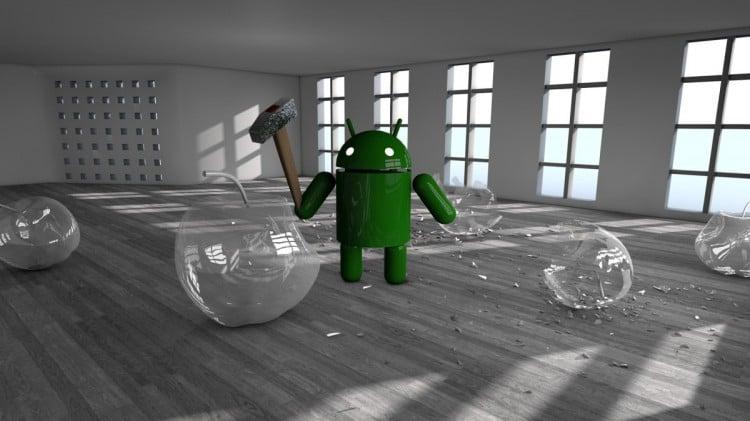 Android доминирует