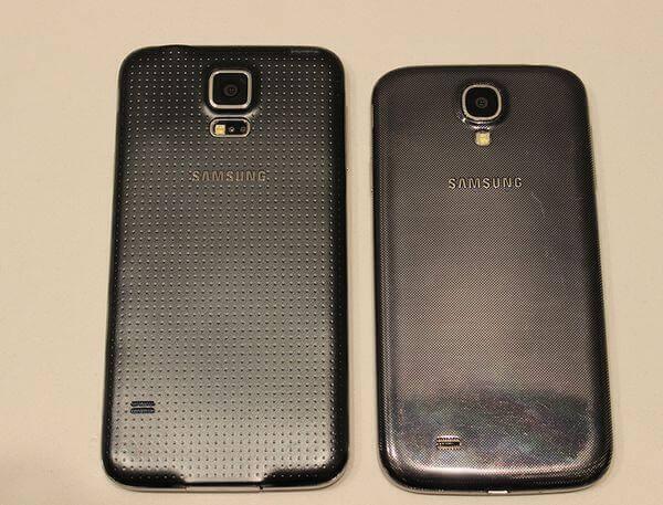 В сравнении с Galaxy S4