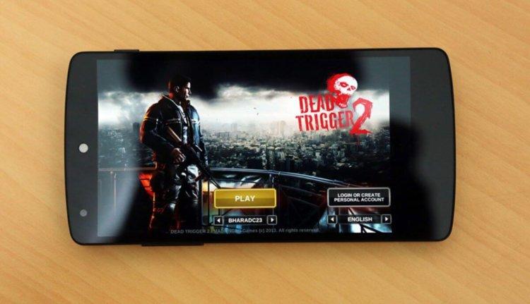 Nexus 5 Игры