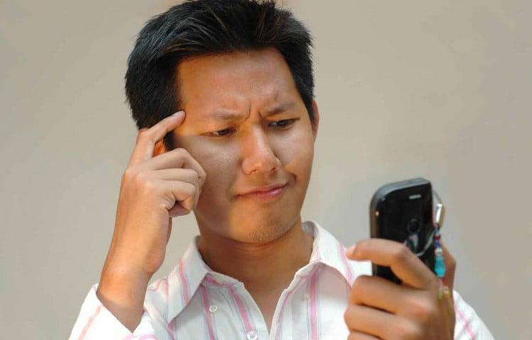 Общение со смартфоном