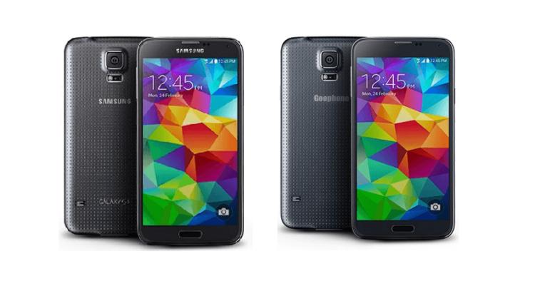 Samsung Galaxy S5 и Goophone S5