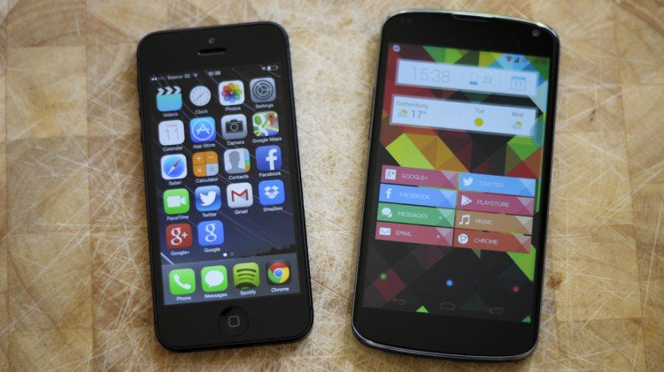 iPhone vs Nexus
