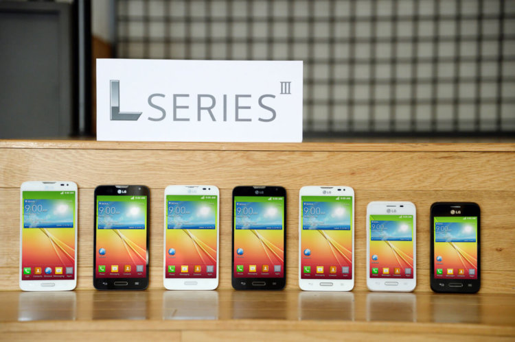 Brand new LG L series