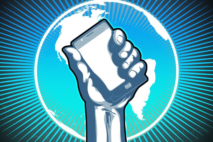 Смартфон спасет мир!