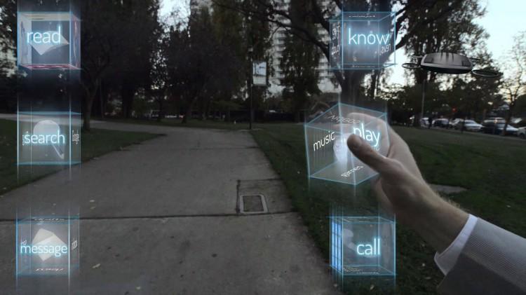интерфейс будущего