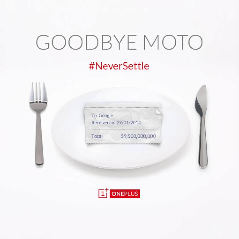 OnePlus о Motorola