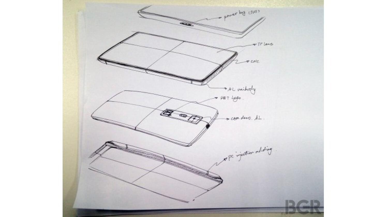схематичное изображение OnePlus One