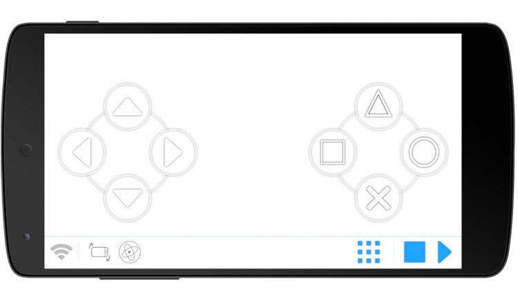 Mobile Gamepad client