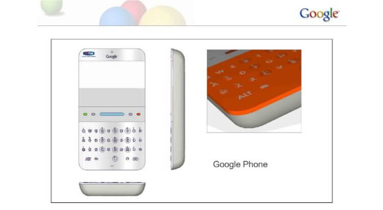 Таким мог стать Google Phone в 2006 году