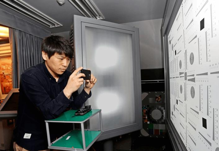 Тест основной камеры Galaxy S5
