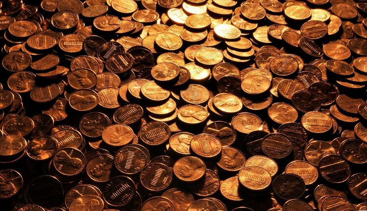 Центовые монетки