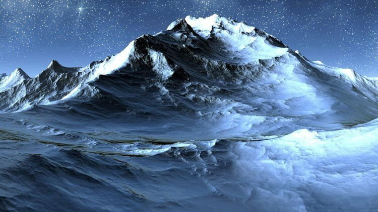Ледяная гора