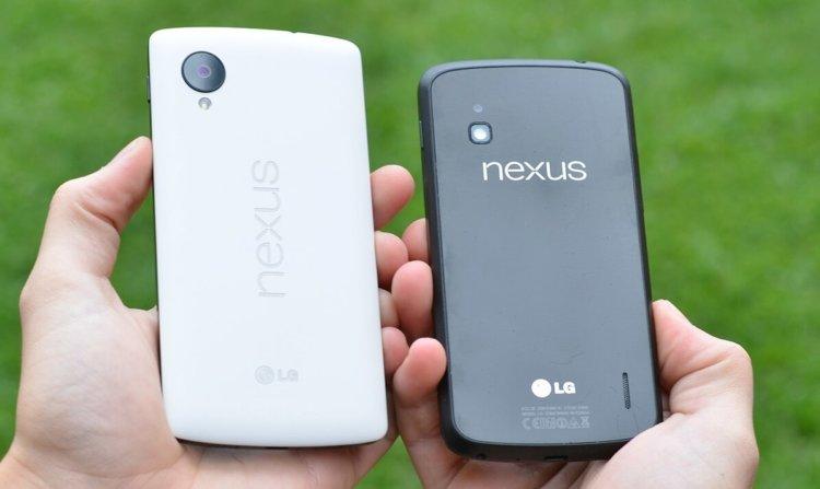 Nexus 4 и Nexus 5