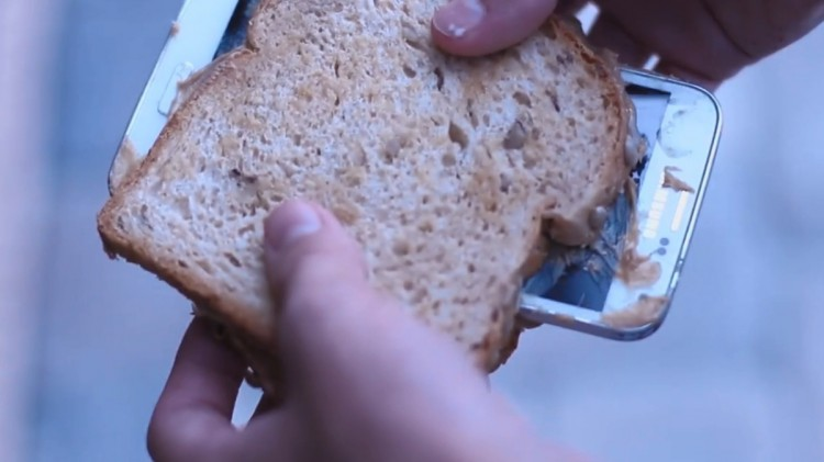 Бутерброд из Galaxy S5