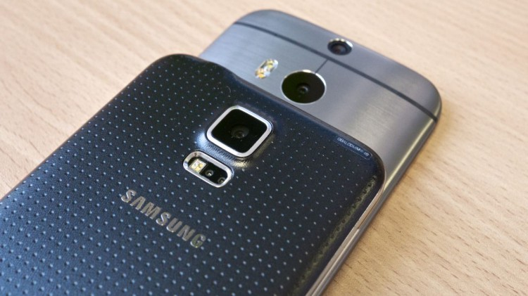 Galaxy S5 vs One M8