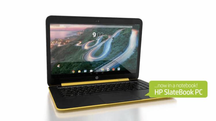 ноутбук HP Slatebook 14 на Android