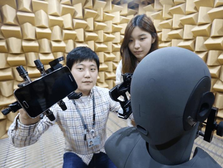 Тестирование микрофона и динамика Galaxy S5