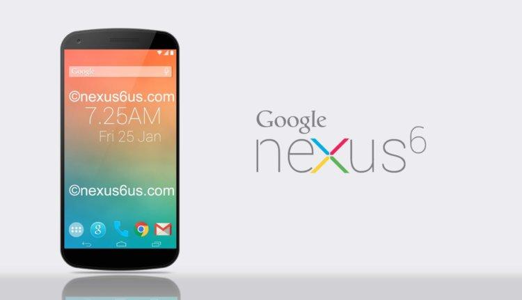 Nexus 6 - концепт