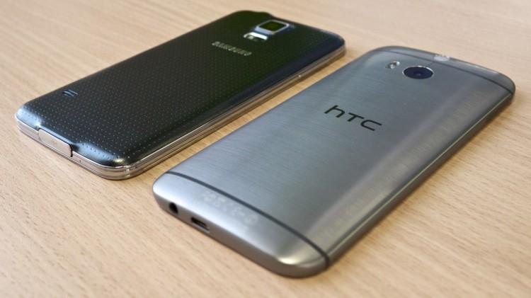 One M8 vs Galaxy S5