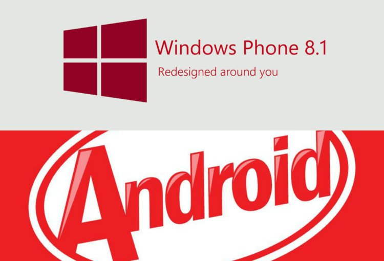 WinPhone 8.1/Android 4.4