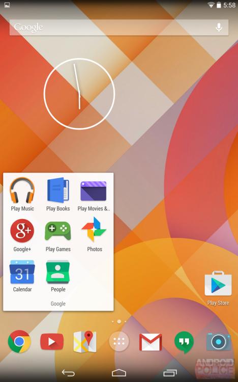 новые иконки Google-приложений