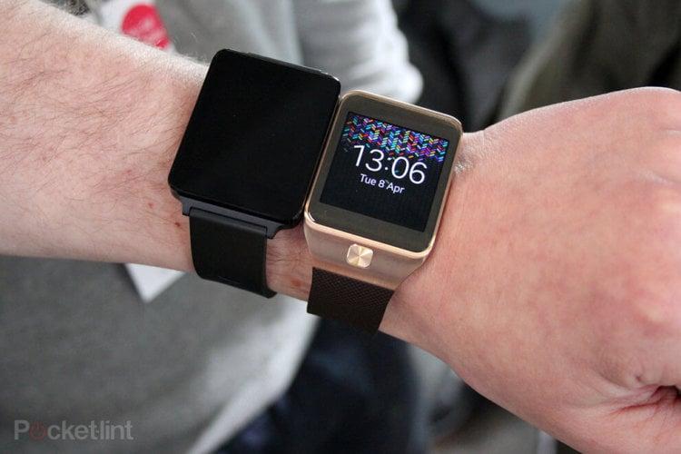 LG G Watch и Gear Neo