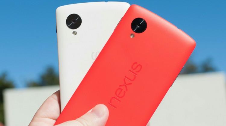 Красный и белый Nexus 5