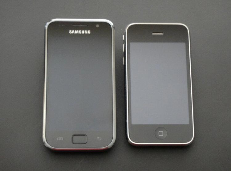 samsung galaxy и iPhone