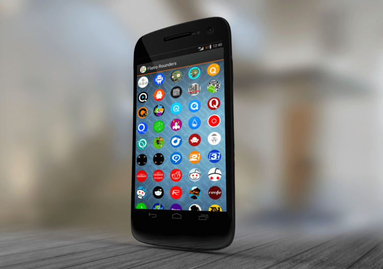 иконки на Android