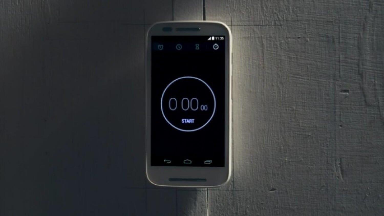Смартфон Motorola Moto E представлен 13 мая 2014 года
