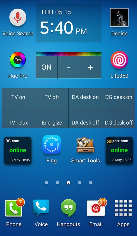 Скриншот превосходства Android над iOS?