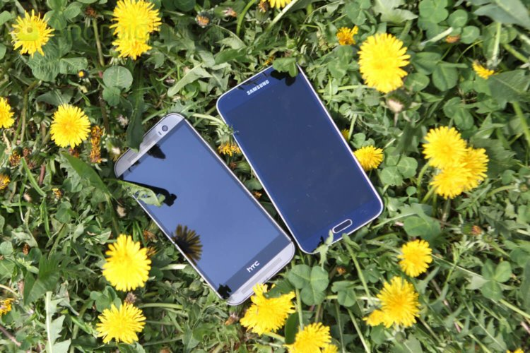 SGS vs HTC-2
