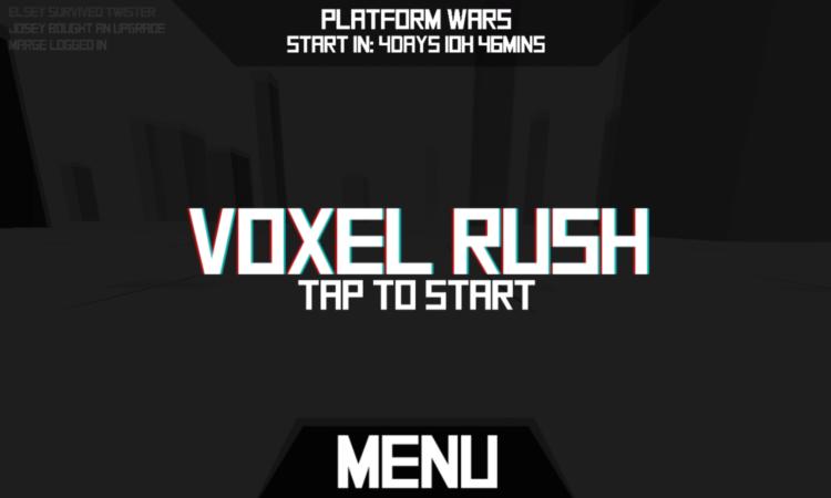 Voxel Rush 1