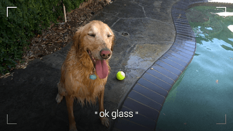 OK Glass Покажи видоискатель