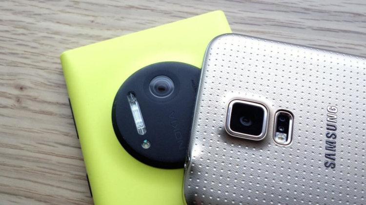 Lumia 1020 vs Galaxy S5