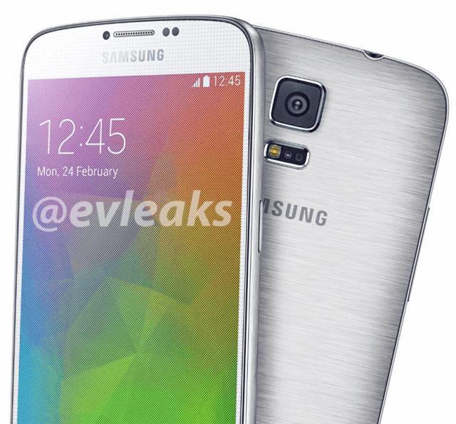 Samsung Galaxy F от evleaks