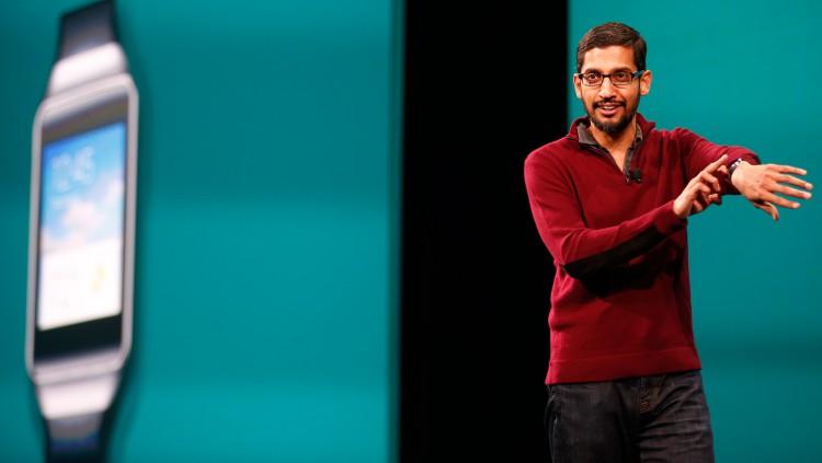 Сундар Пичаи и Android Wear