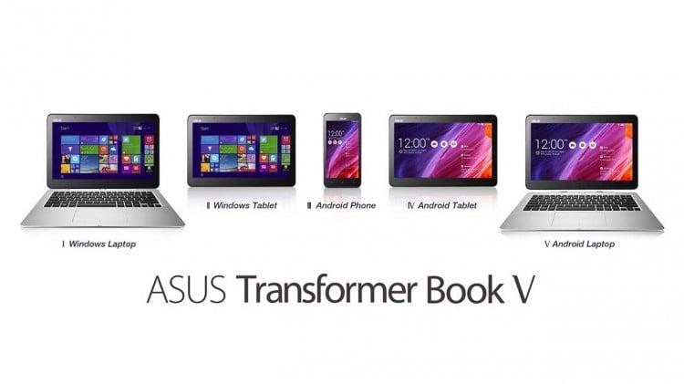 Аsus transformer book V