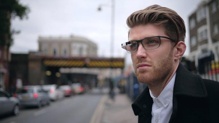 модная оправа Google Glass