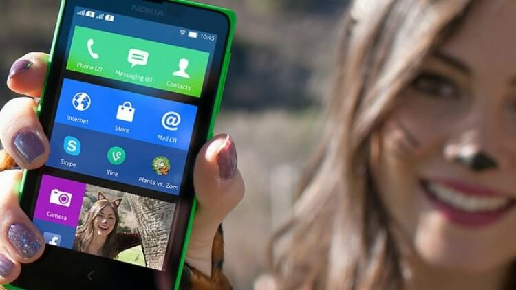 Nokia X на Android