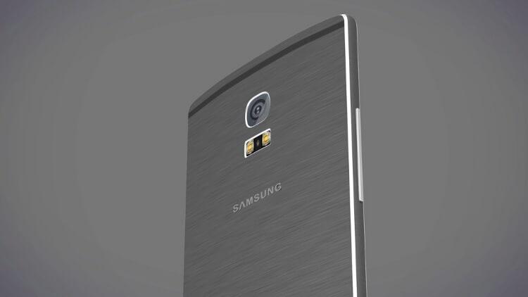 Концепт Samsung Galaxy Alpha