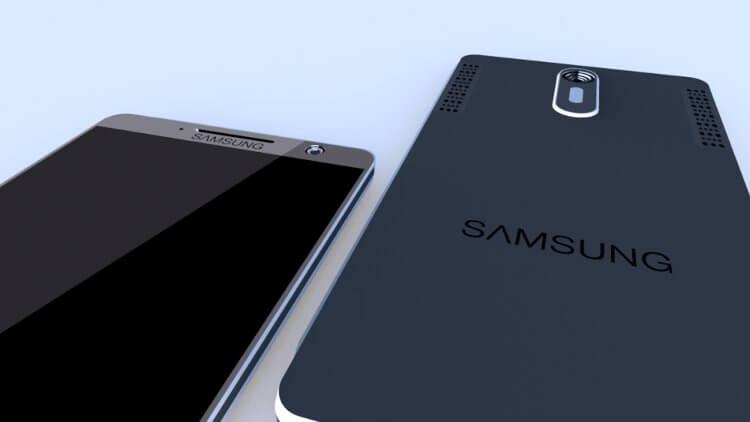 Концепт Samsung Galaxy Note 4