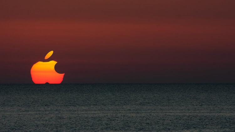 Apple. Рассвет или закат?
