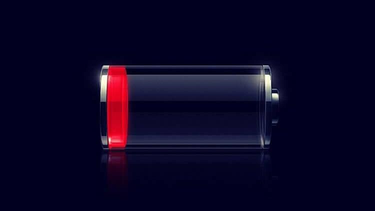 Батарея смартфона